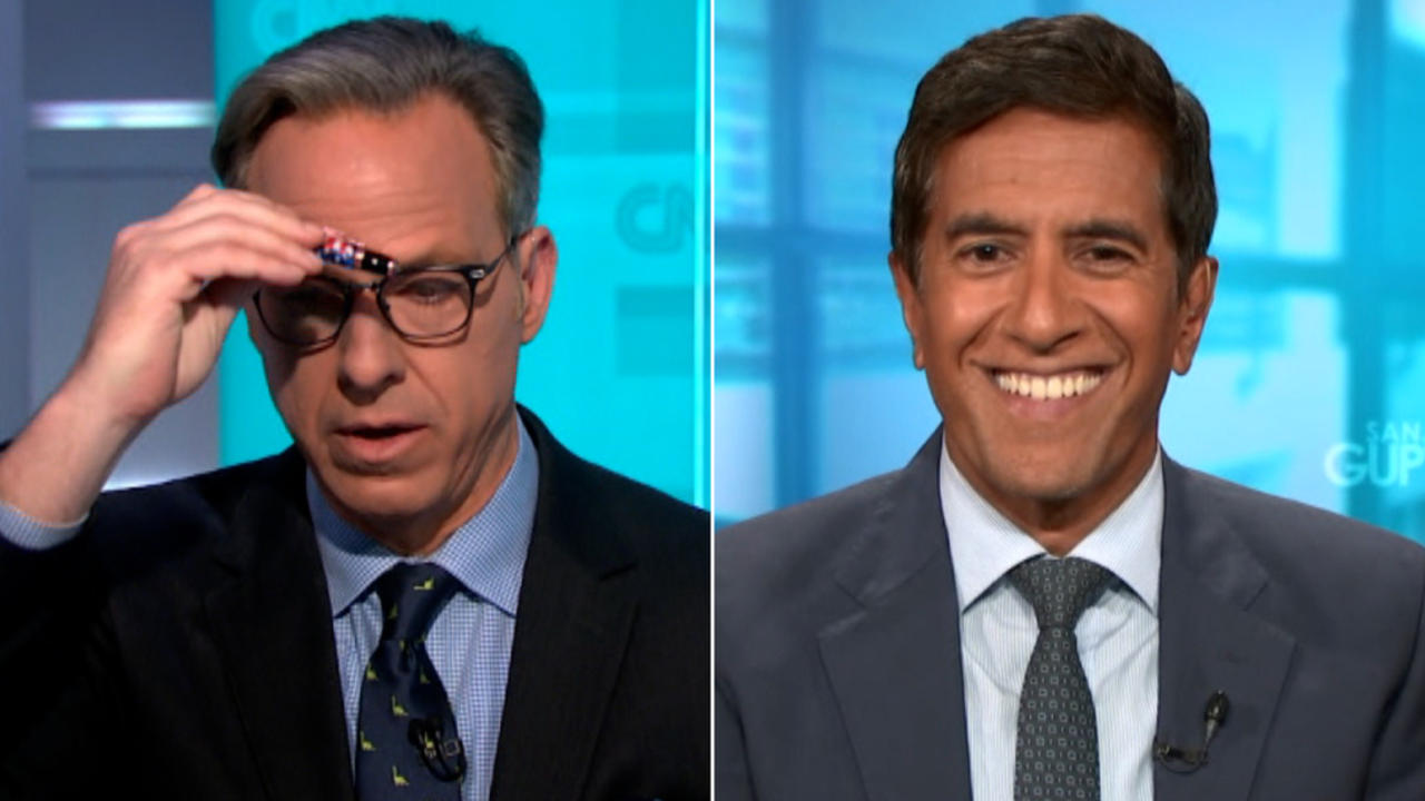 Tapper and Gupta react to doctor's unhinged vaccine claim