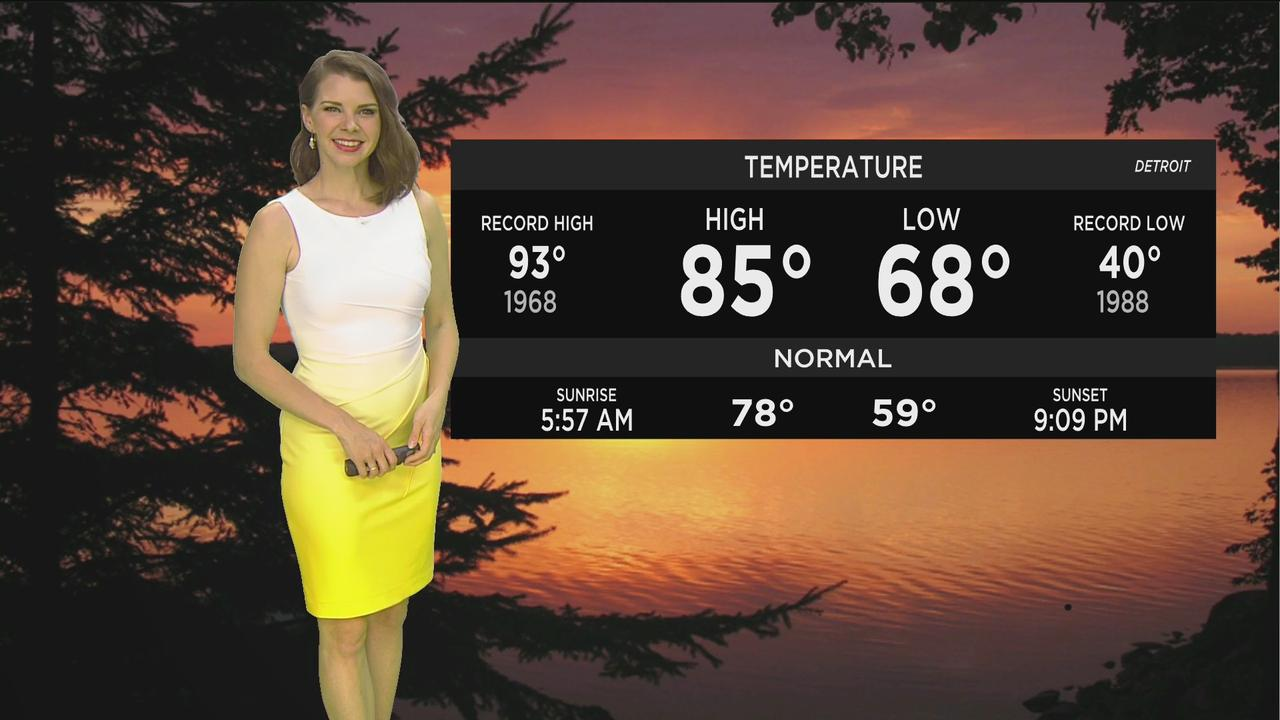 First Forecast Weather June 9, 2021 (Tonight)