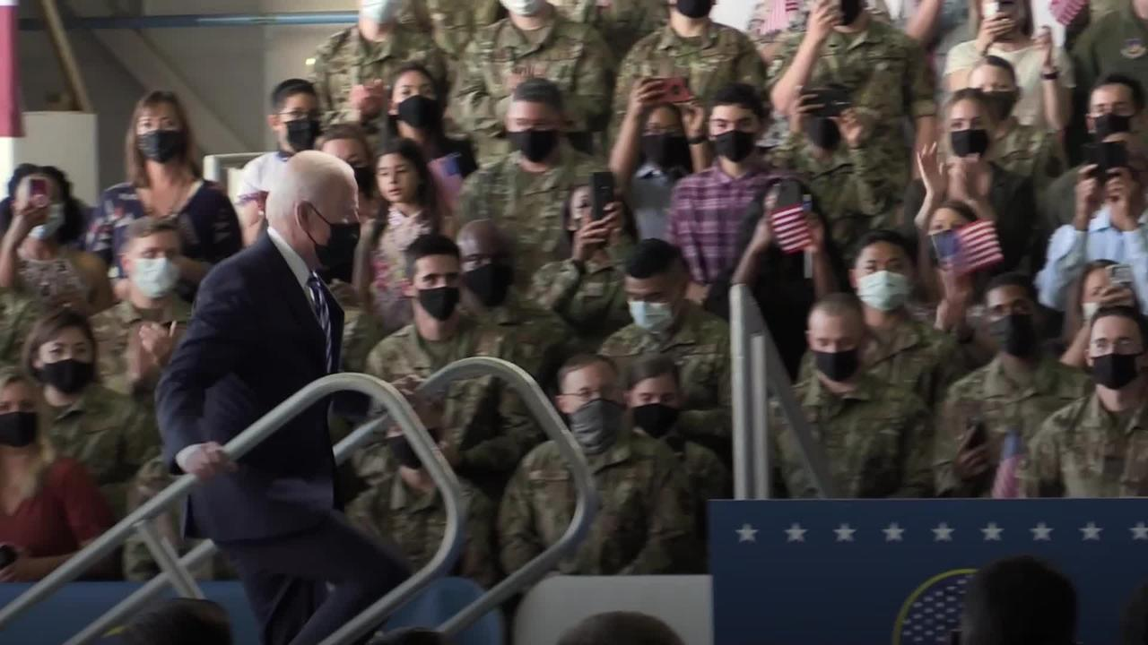 Biden declares 'United States is back'