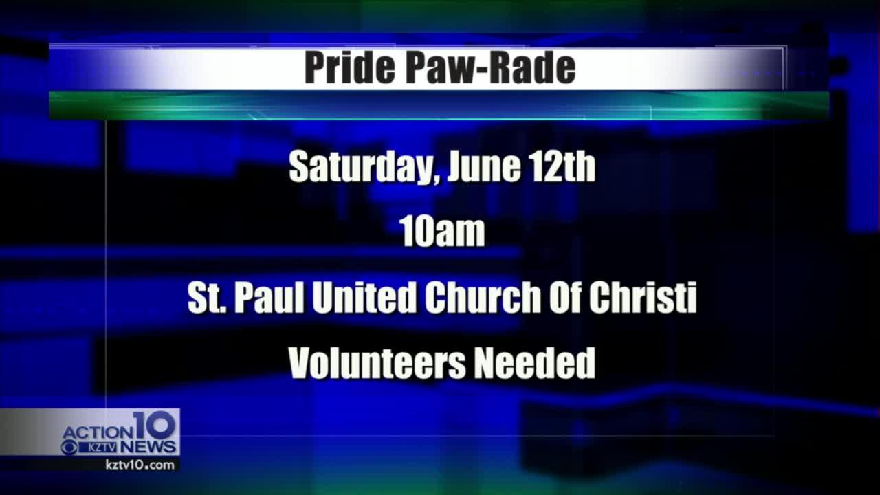 Pet Paw-rade seeks volunteers