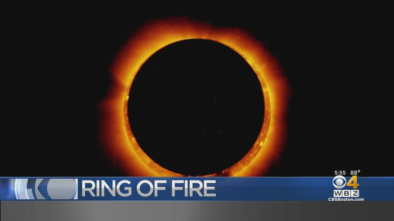 Ring Of Fire Solar Eclipse Peaks Tomorrow Morning At 5:33