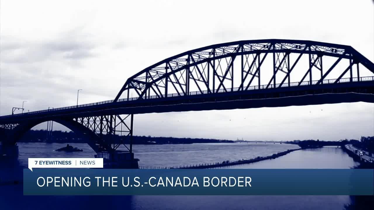 Opening the U.S.-Canada border