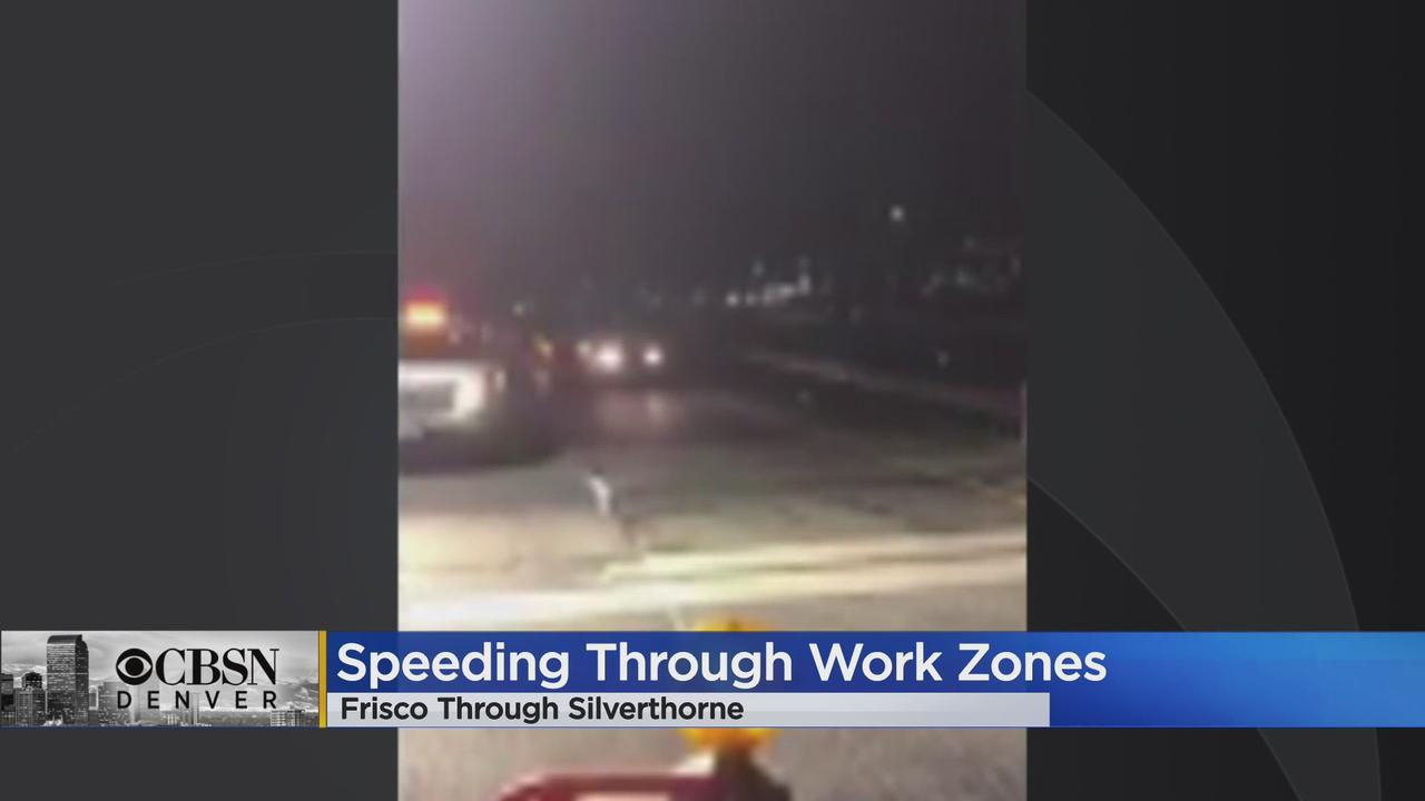CDOT & State Patrol Asking Drivers To Slow Down Through High Country Construction Zones