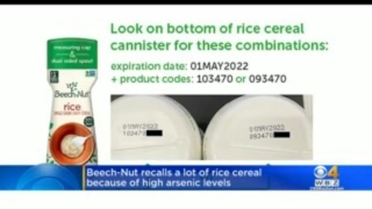 Beech-Nut Baby Rice Cereal Recalled Due To High Arsenic Levels