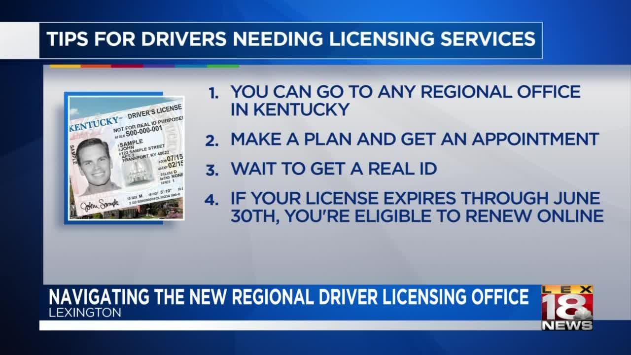 Lexington's Driver Licensing Regional Office experiencing longer wait times