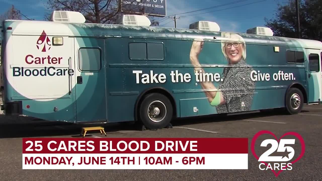 KXXV June 14 Blood Drive