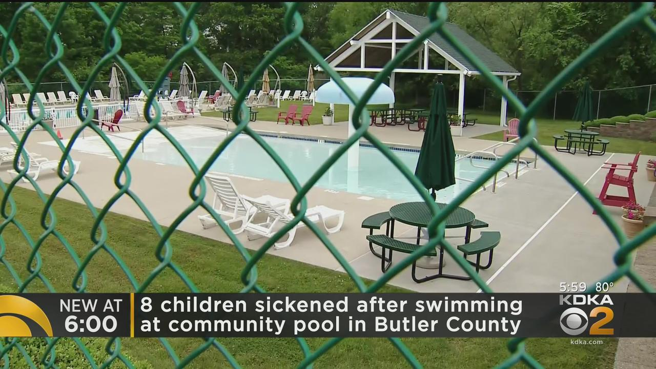 8 Kids Sickened After Swimming In Butler County Community Pool
