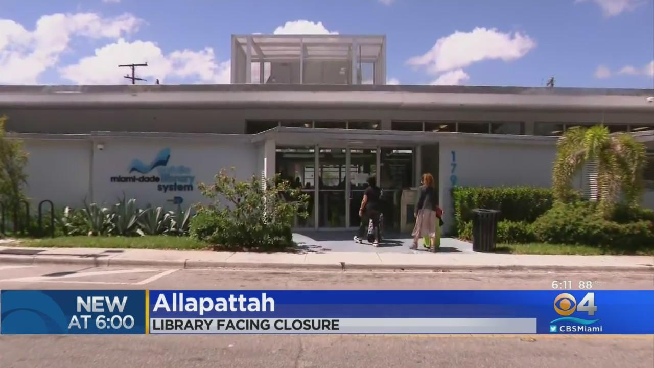 Allapattah Branch Library Facing Closure