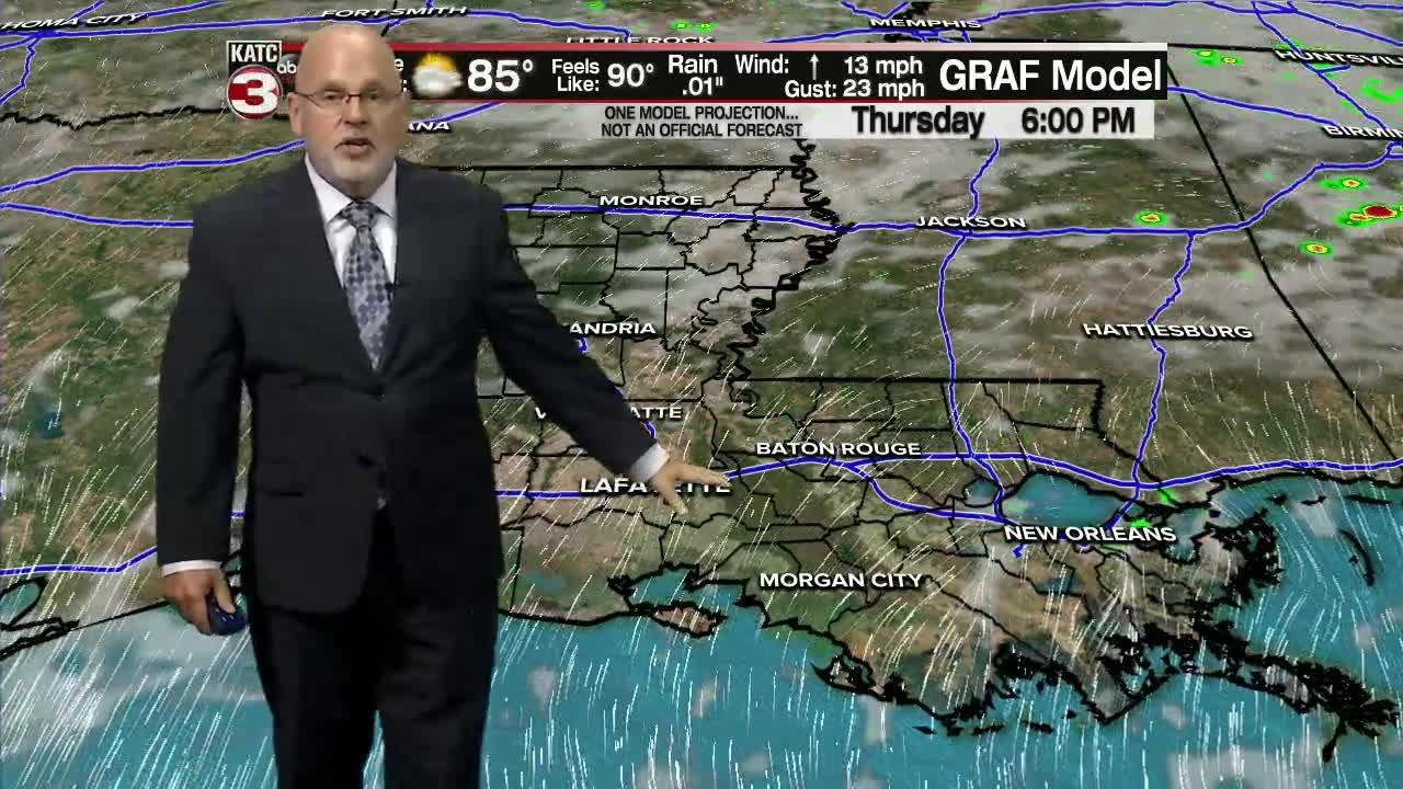 ROB'S WEATHER FORECAST PART 1 5PM 6-9-2021