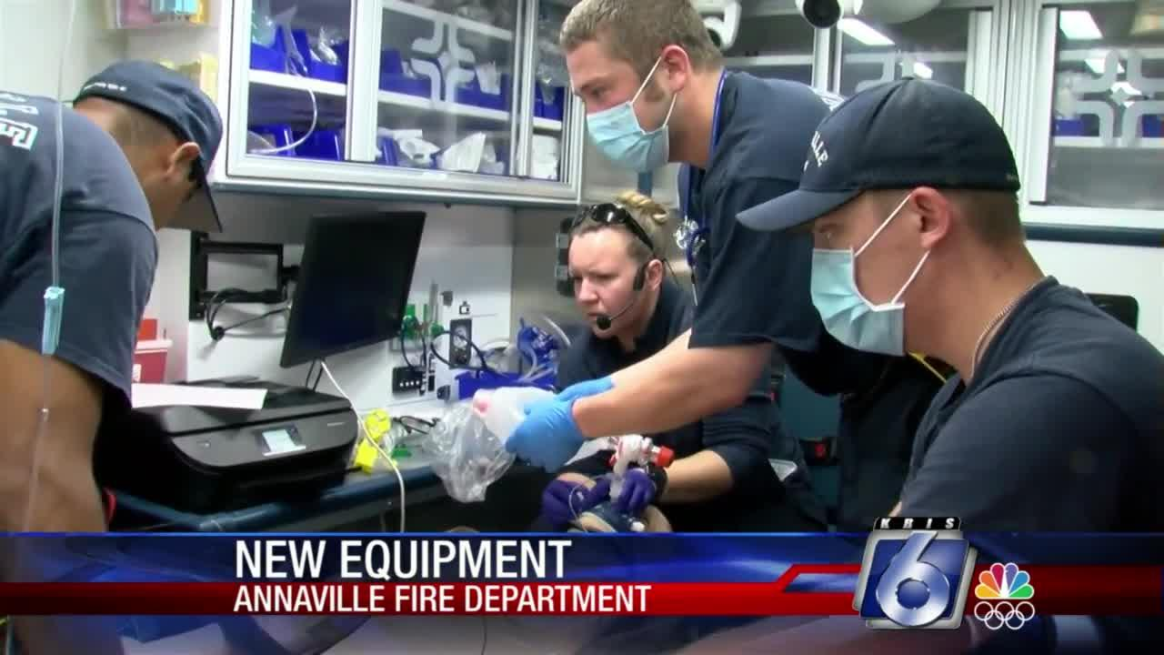Annaville fire crews train on new 'life-like' technology