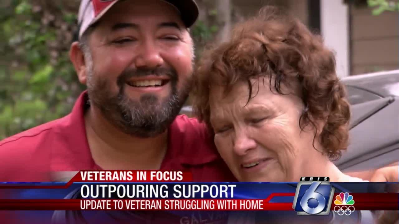 Contractors rally to help veteran's aging home