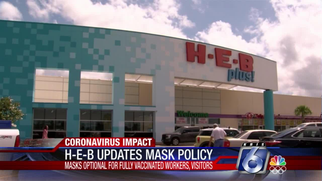 HEB updates mask guidelines
