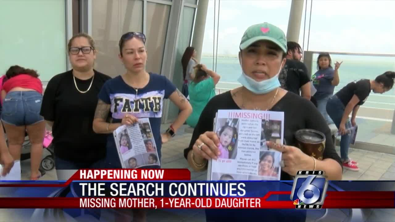 Search underway for missing mother and daughter, suspects on the loose