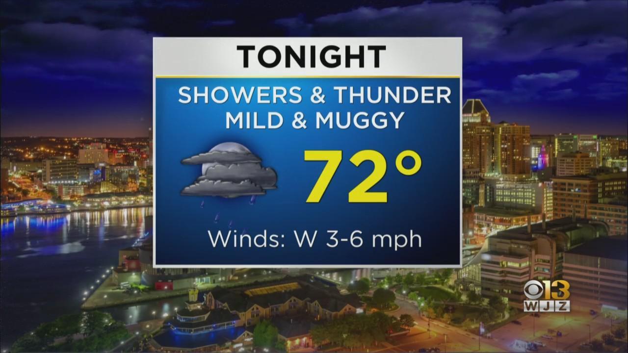 Bob Turk Has Your Wednesday Evening Forecast