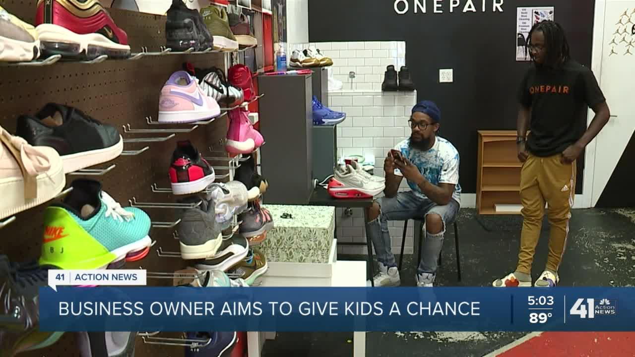 Troost Avenue shoe store steps up for urban-core youth
