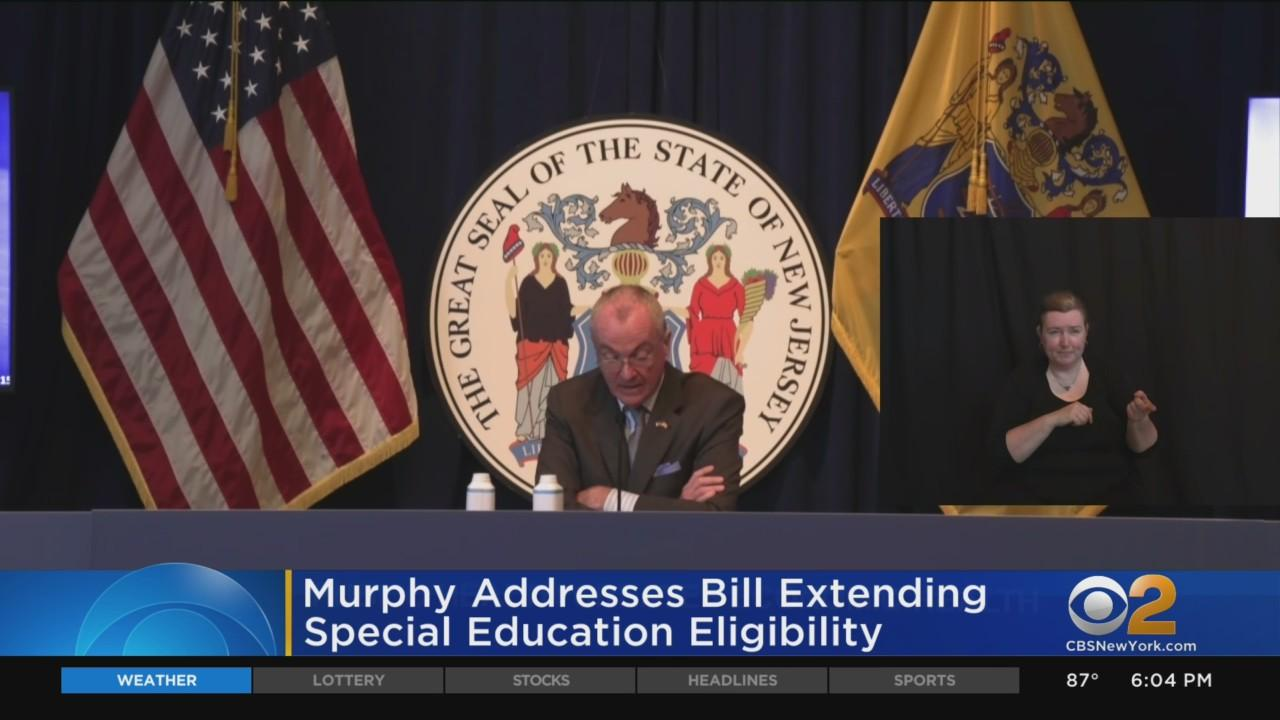 Murphy Addresses Bill Extending Special Education Eligibility