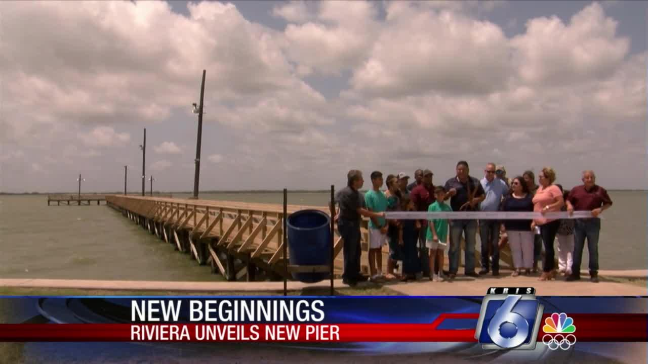 Riviera Beach pier complete after destruction by Hurricane Hanna