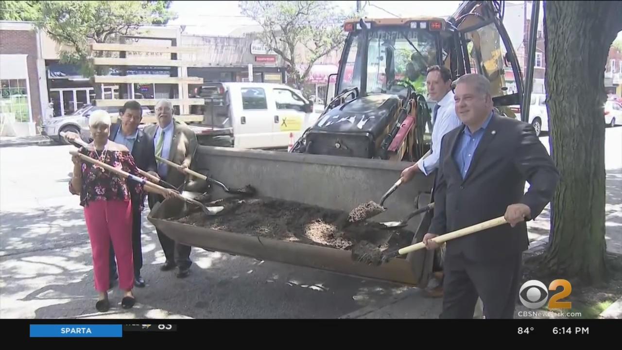 Groundbreaking On Yonkers Avenue Streetscape Improvements