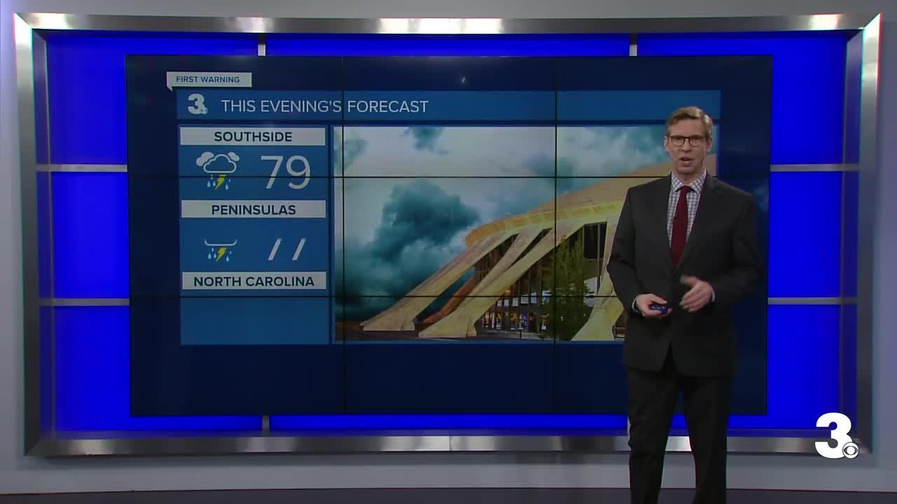 Wednesday Evening Weather Webcast