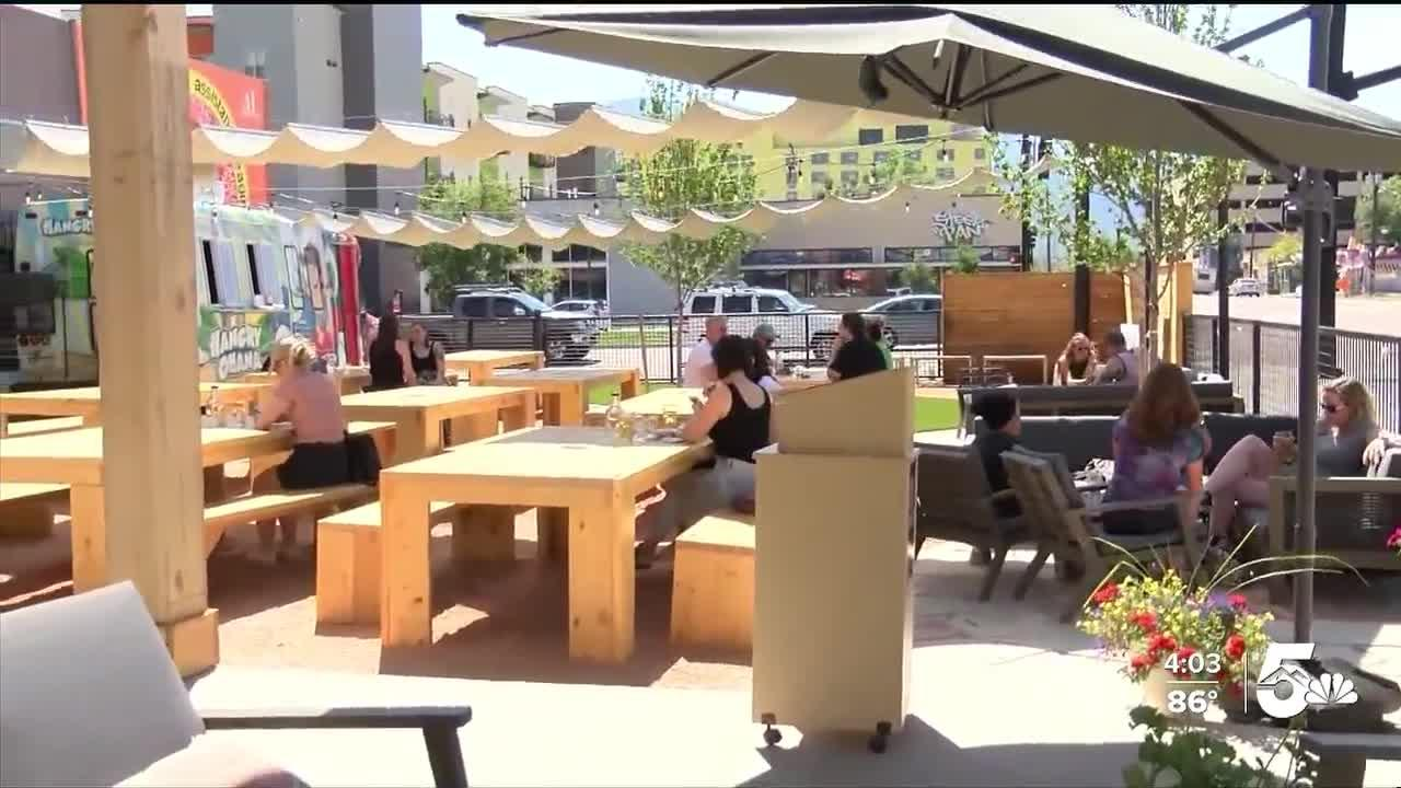 The Garden pairs local drinks with Colorado weather