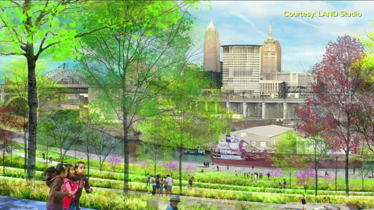 A wrinkle in the plans for Irishtown Bend at the corner of Detroit Avenue and West 25th