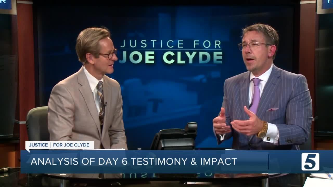 Joseph Daniels Trial Day 6 Analysis