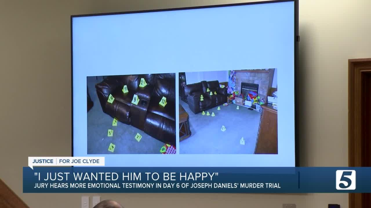 Joseph Daniels Trial Day 6: Jury hears recordings of Daniels, investigators testify to evidence testing