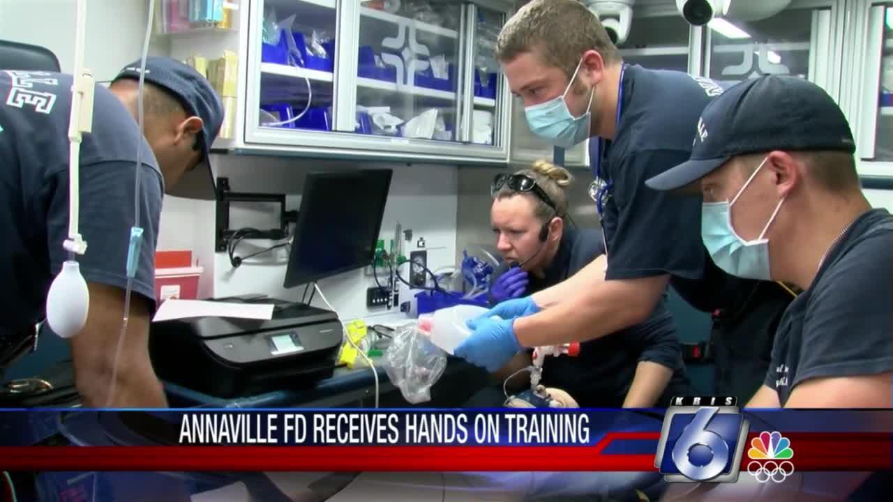 Annaville Fire Dept. receives hands on training