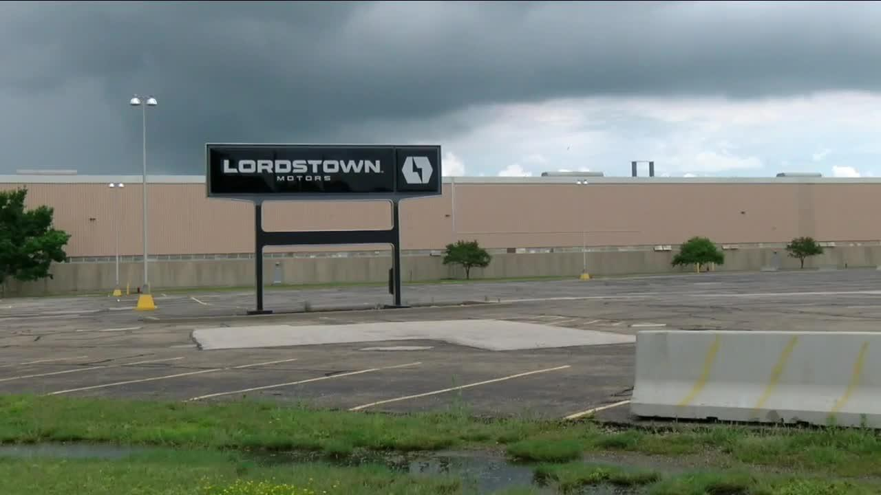After turbulent Tuesday, shares of Lordstown Motors end Wednesday off only a penny