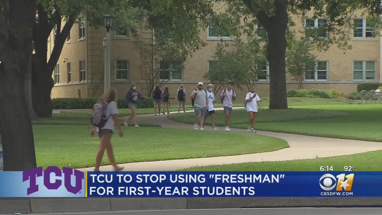 TCU Drops 'Freshmen' Title For First-Year Students