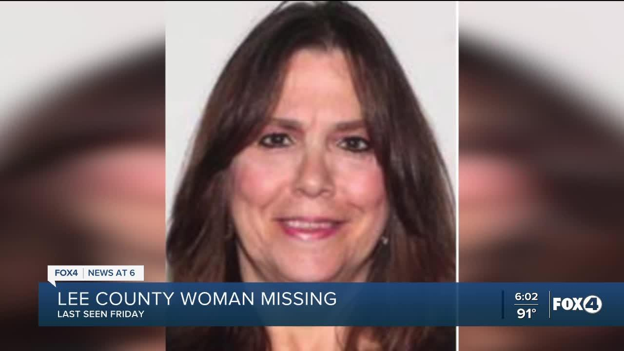 Lee County woman missing