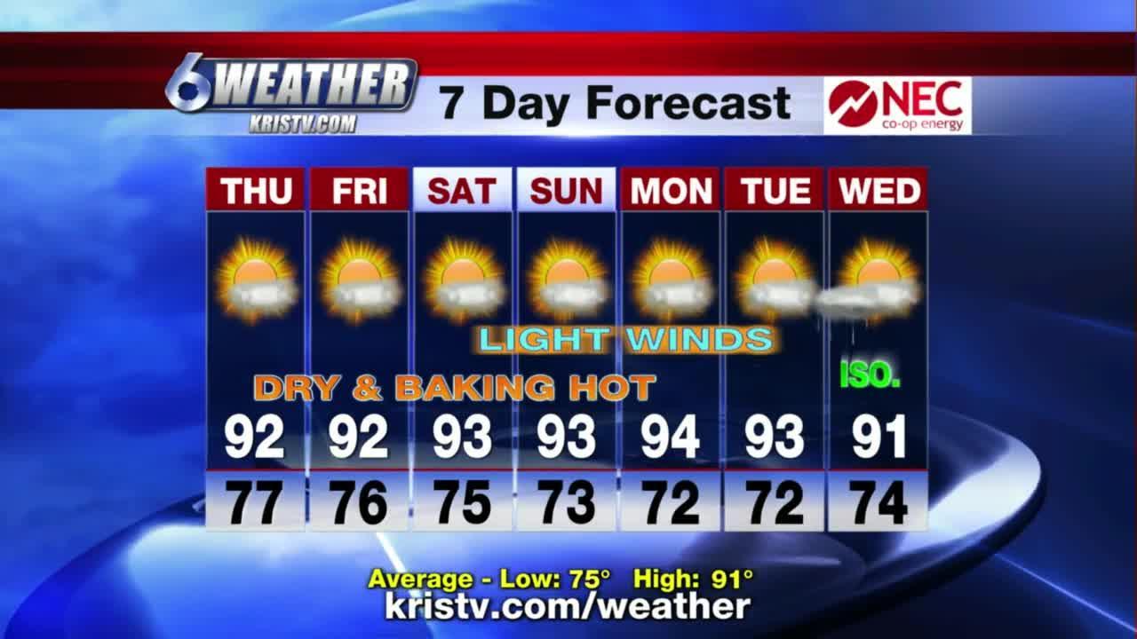 KRIS 6 News weather-forecast 06/09/2021