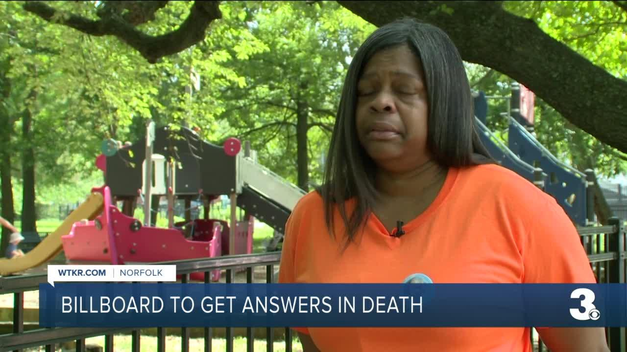 Billboard to get answers in death