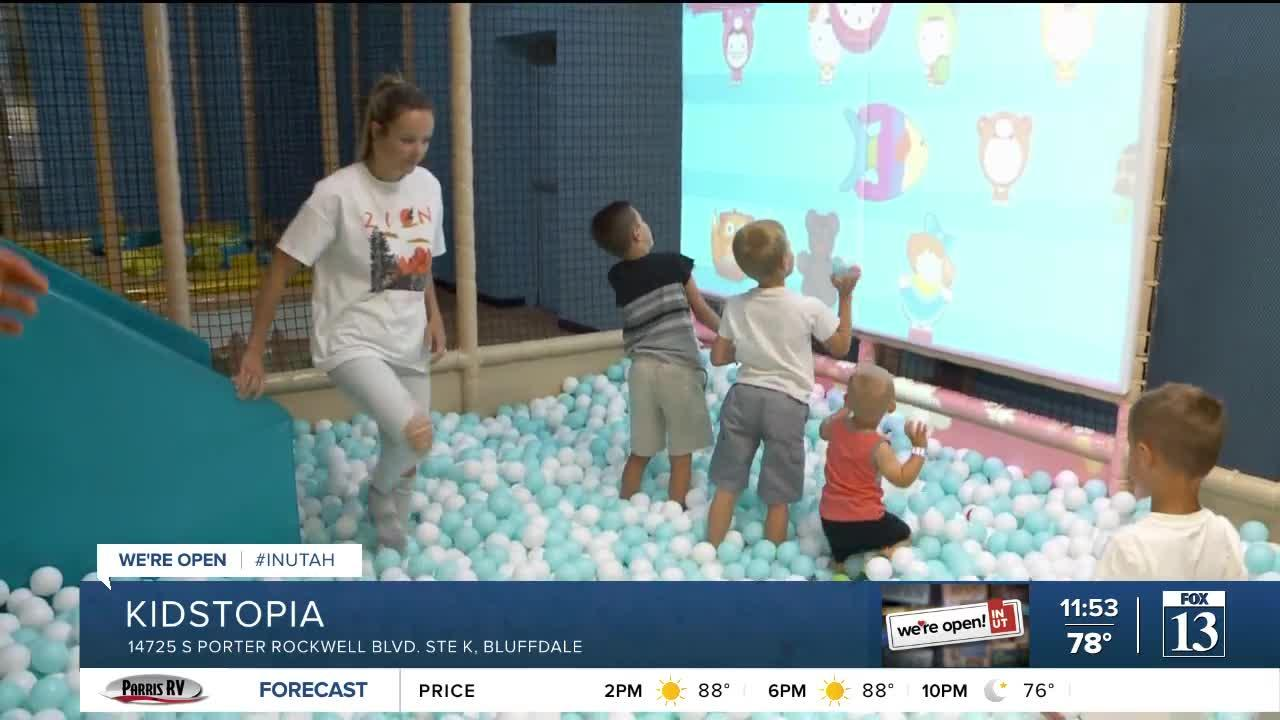 Keep your kids entertained at Kidstopia