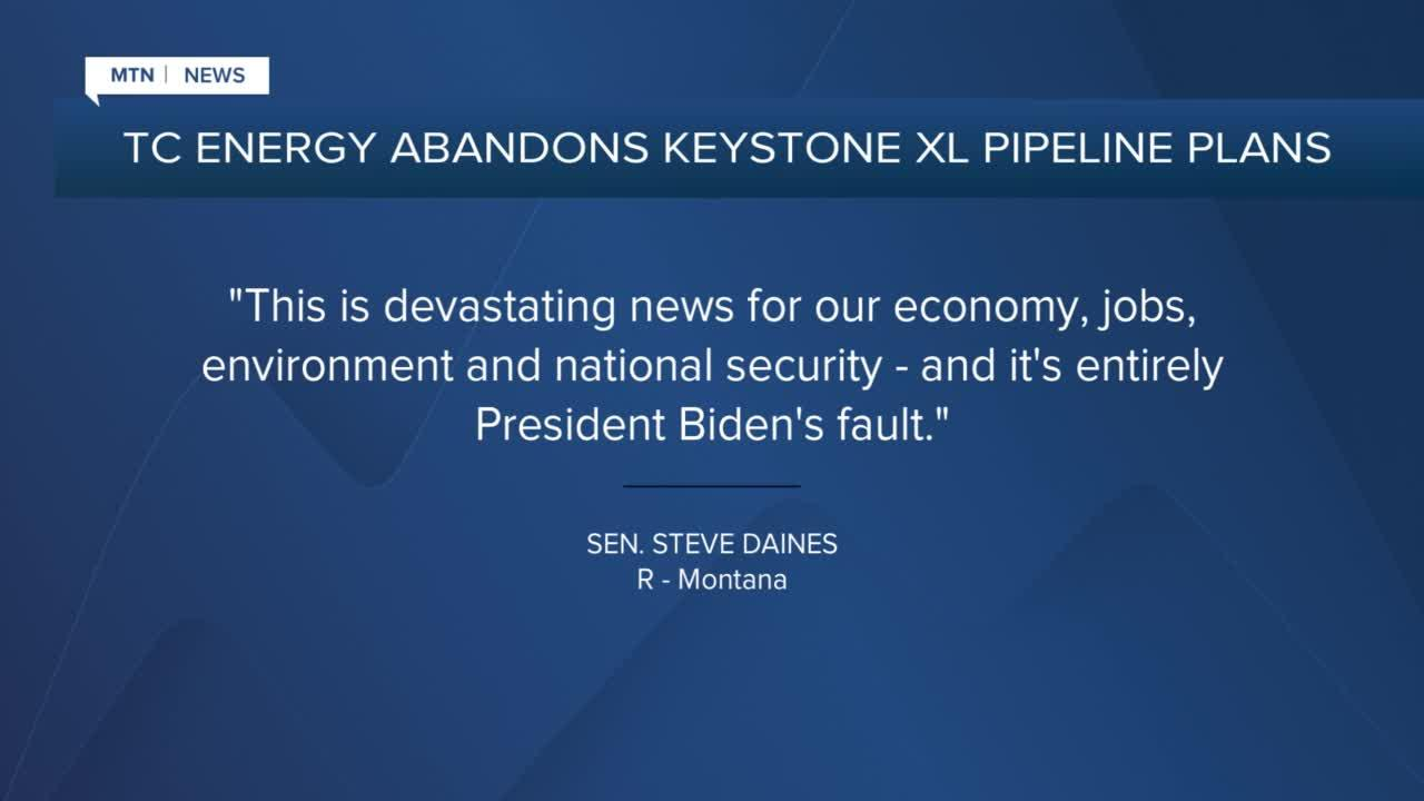 TC Energy drops Keystone XL pipeline