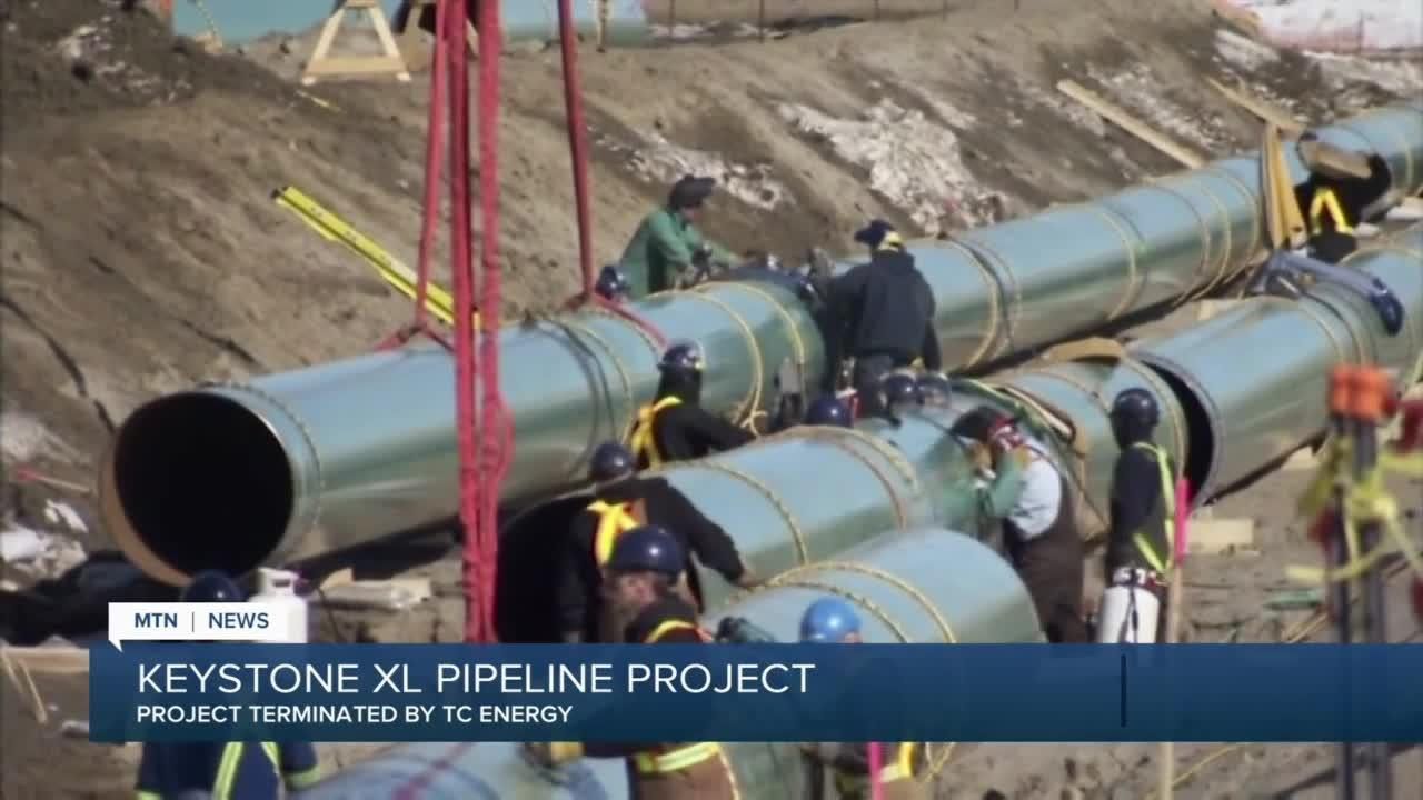 TC Energy abandons plans for Keystone XL Pipeline