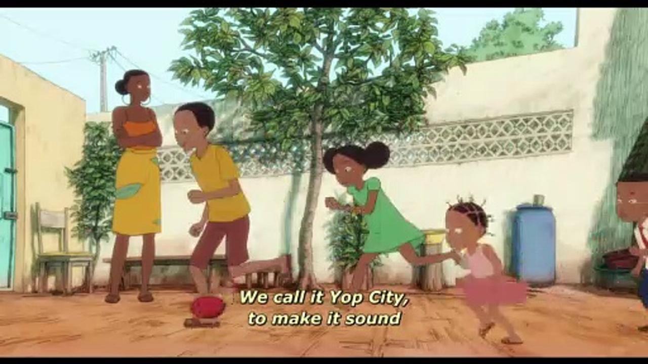 Aya of Yop City Movie