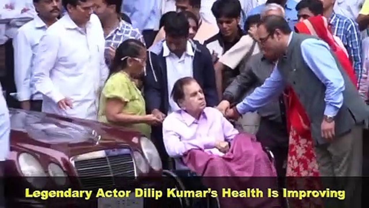 Dilip Kumar Health Update | Veteran Actor Is Recovering Breathing Issues
