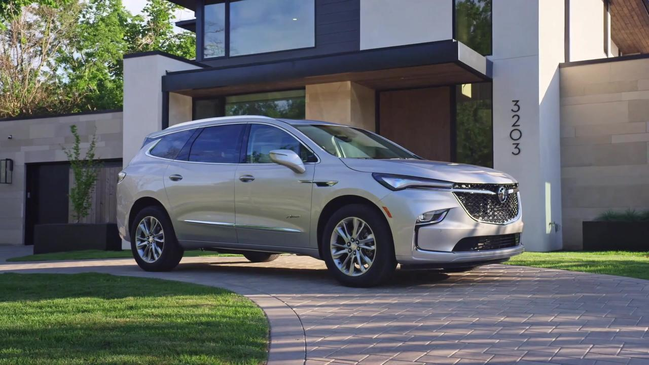 2022 Buick Enclave Design Preview