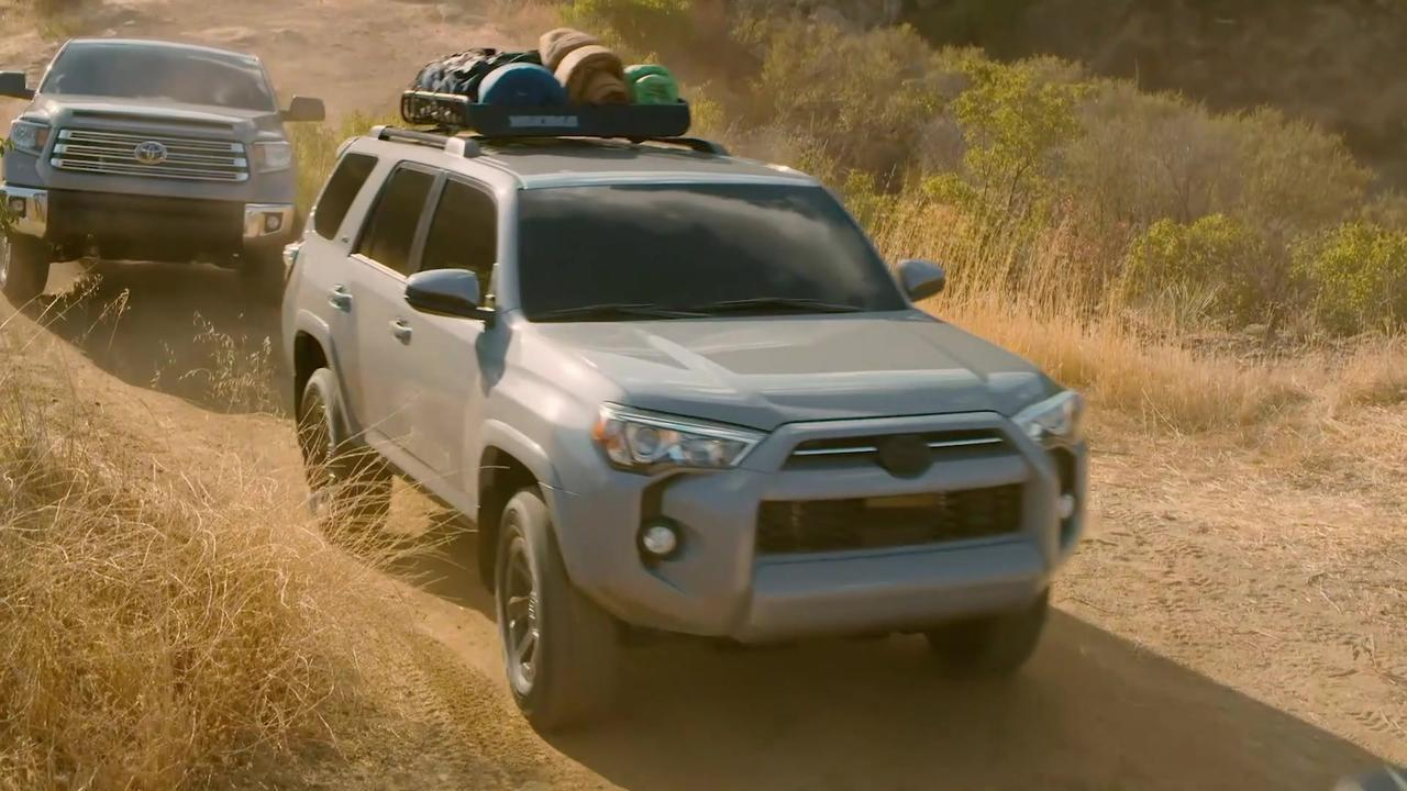 2021 Toyota family Trail Edition