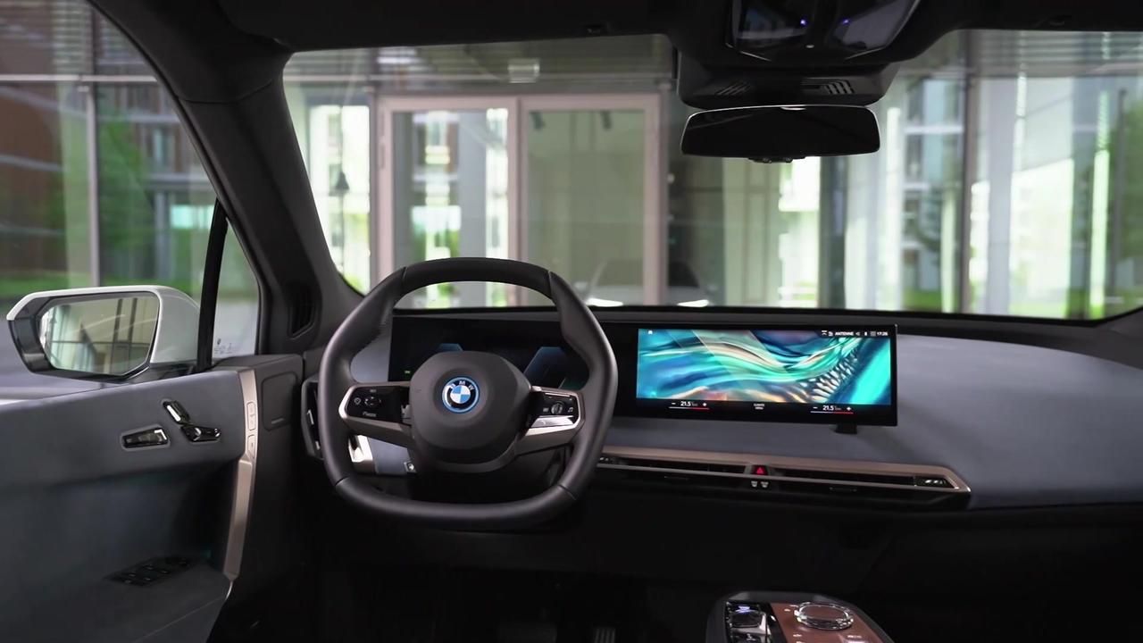 The first-ever BMW iX - Interior Design