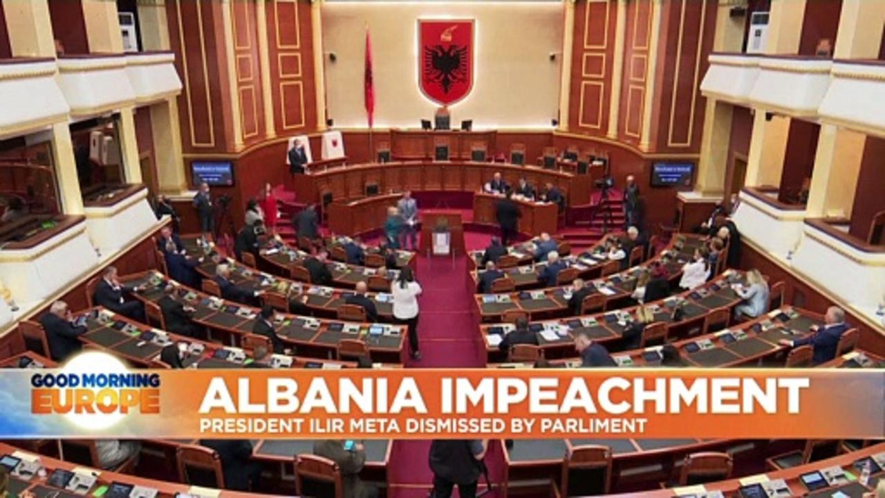 Albanian MPs have just voted to impeach their president. Here's why