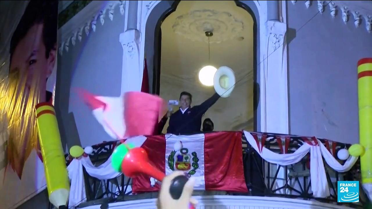Castillo holds razor-thin lead in Peru presidential election as Fujimori wants votes annulled