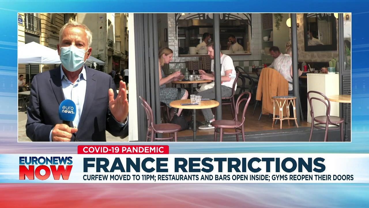 France eases COVID-19 restrictions and reopens borders