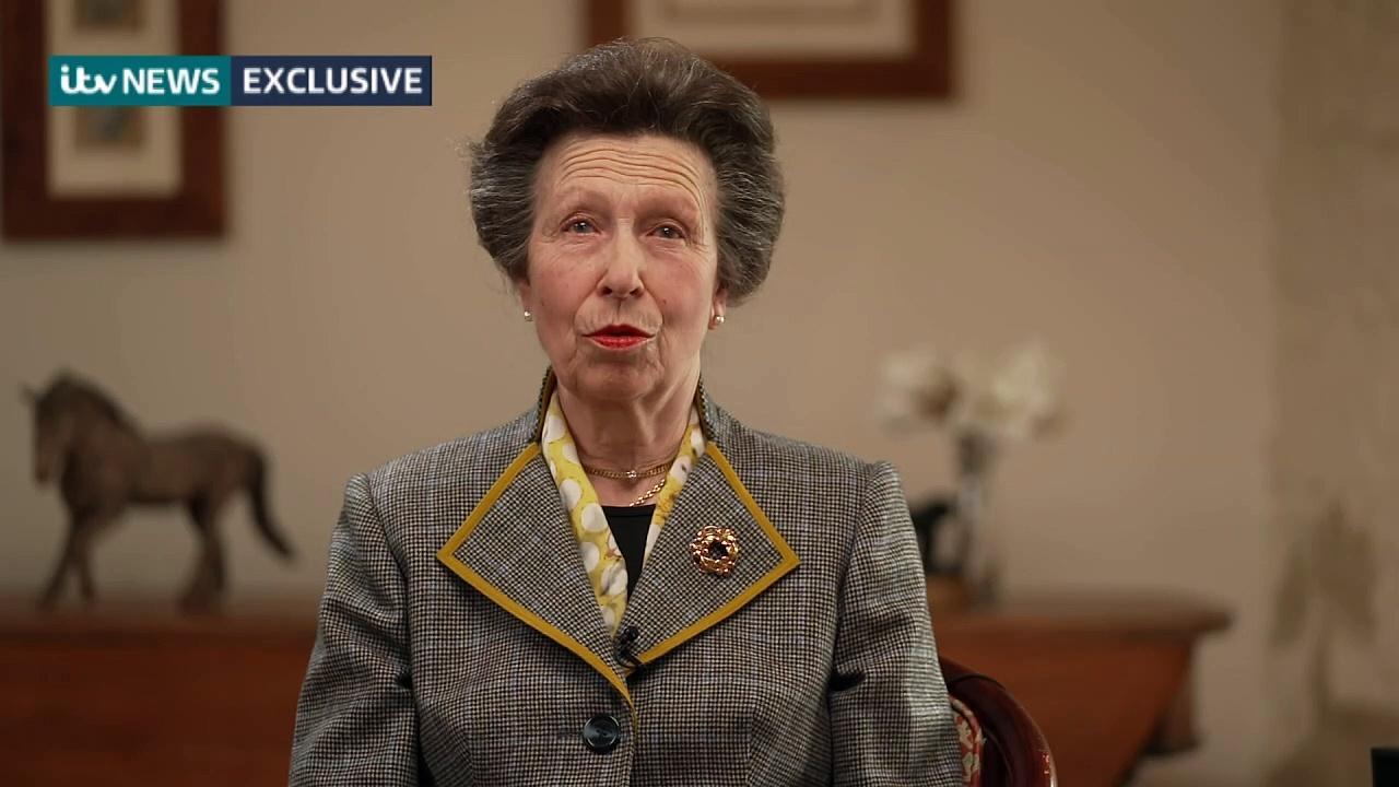 Princess Anne remembers Duke of Edinburgh
