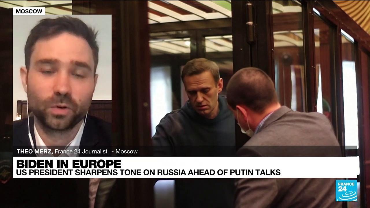 US President sharpens tone on Russia ahead of Putin talks