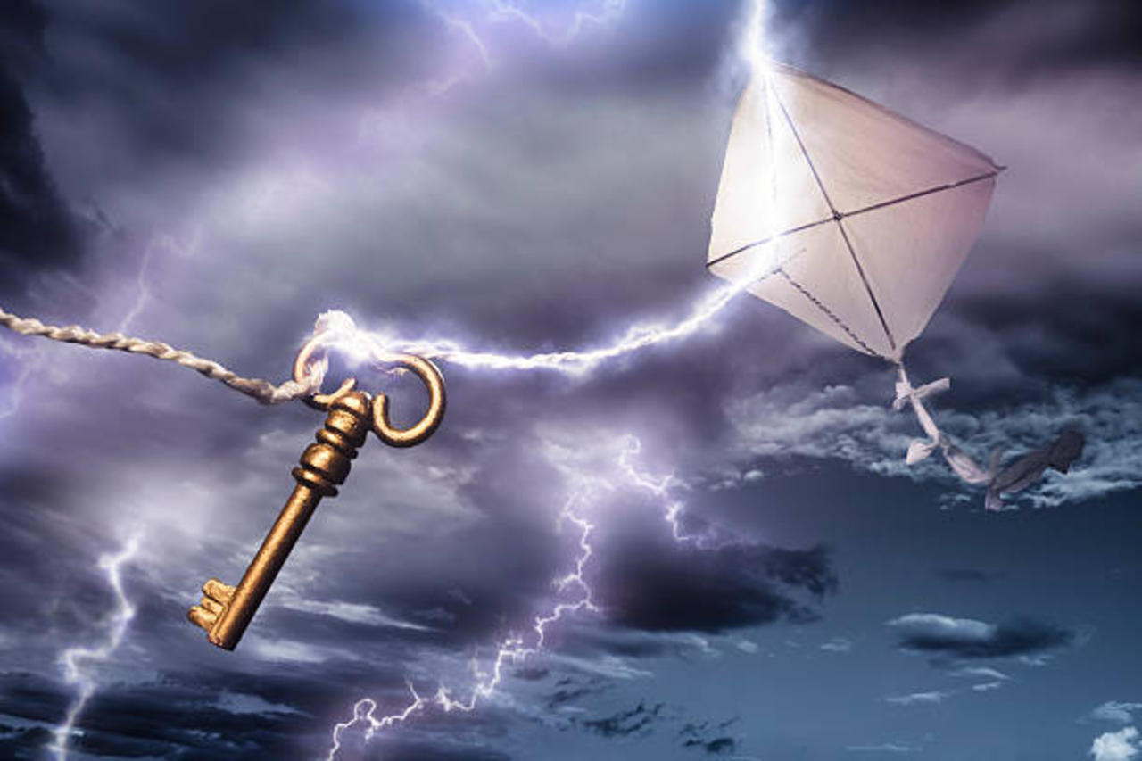 This Day in History: Benjamin Franklin Flies a Kite During Thunderstorm