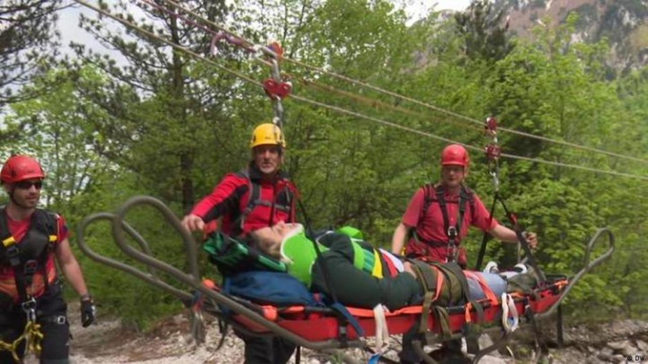 Trouble for mountain rescuers