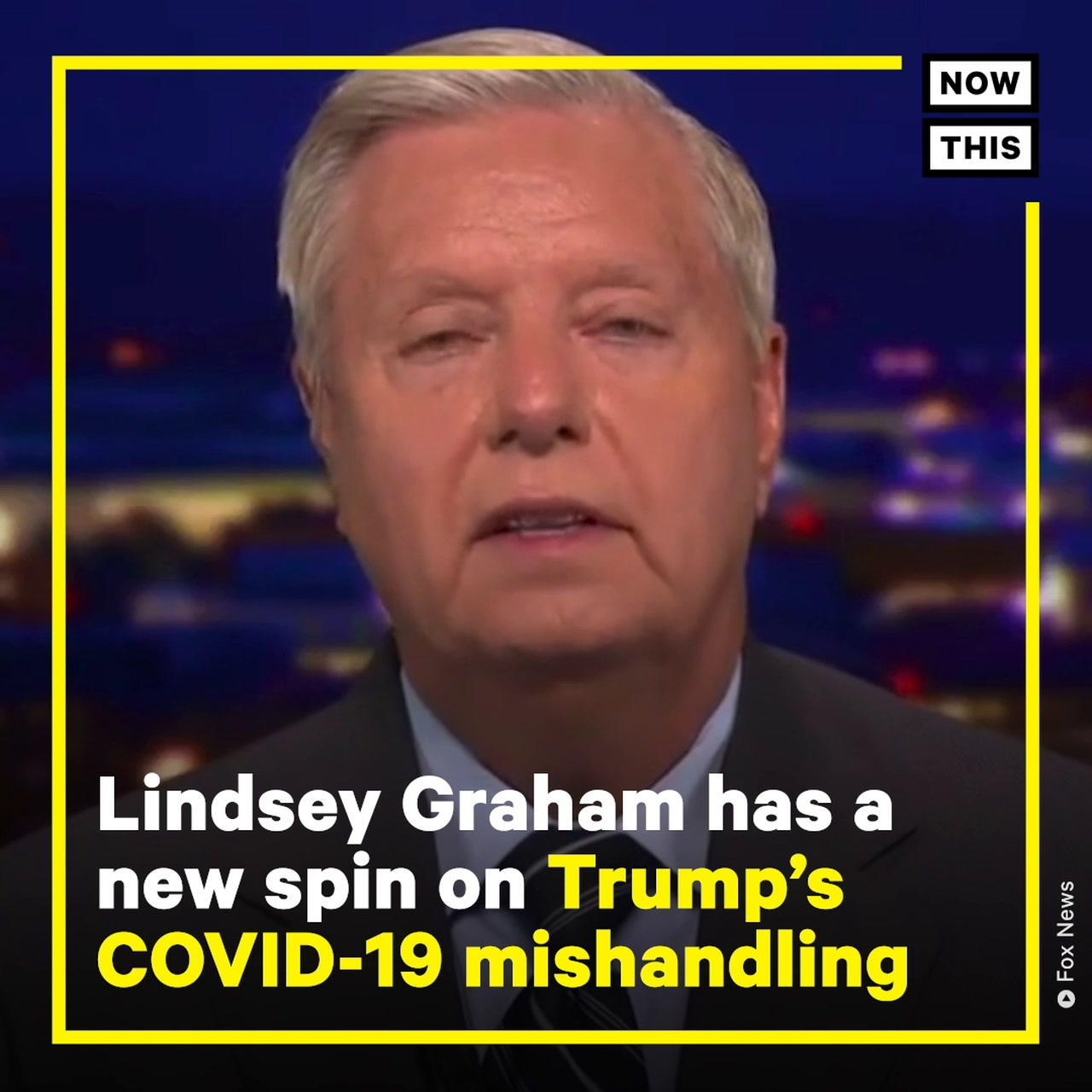Lindsey Graham Says Trump Would Be President Today If COVID-19 Lab Leak Theory is True