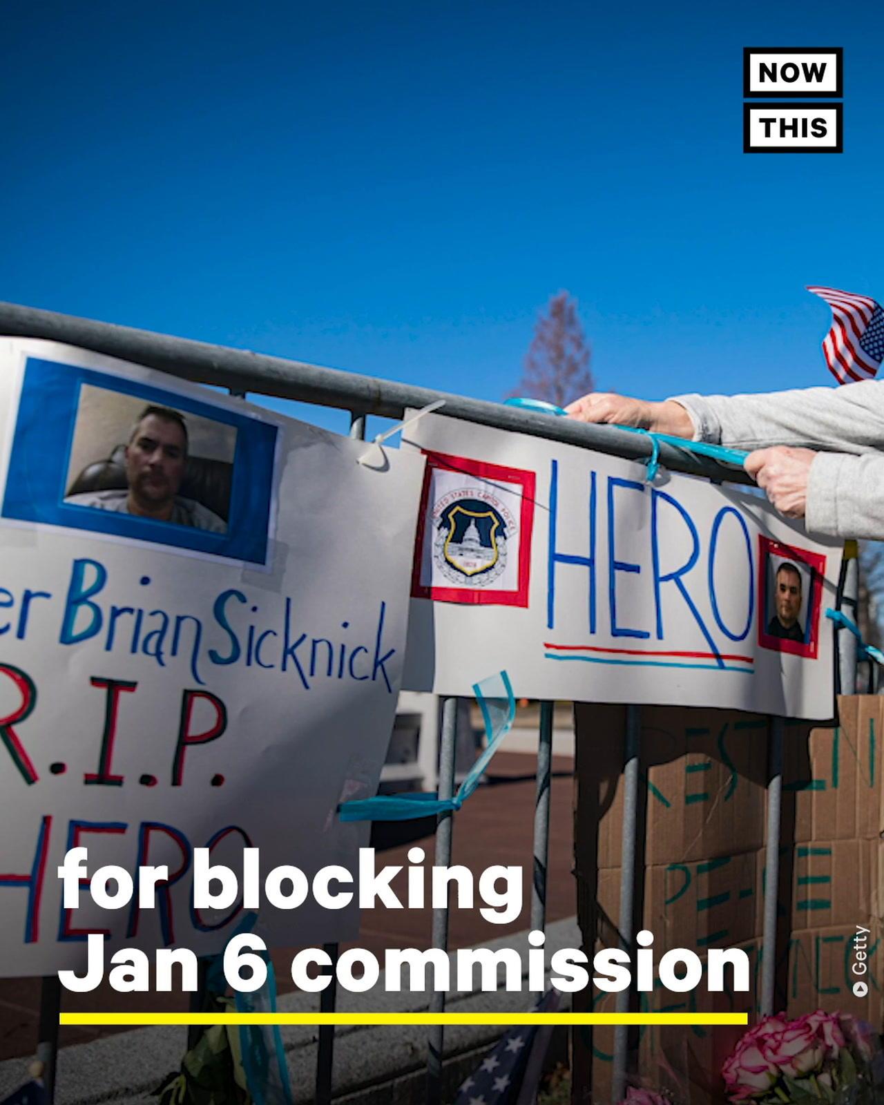 Former Partner of Fallen Capitol Officer Calls for Jan 6 Investigation